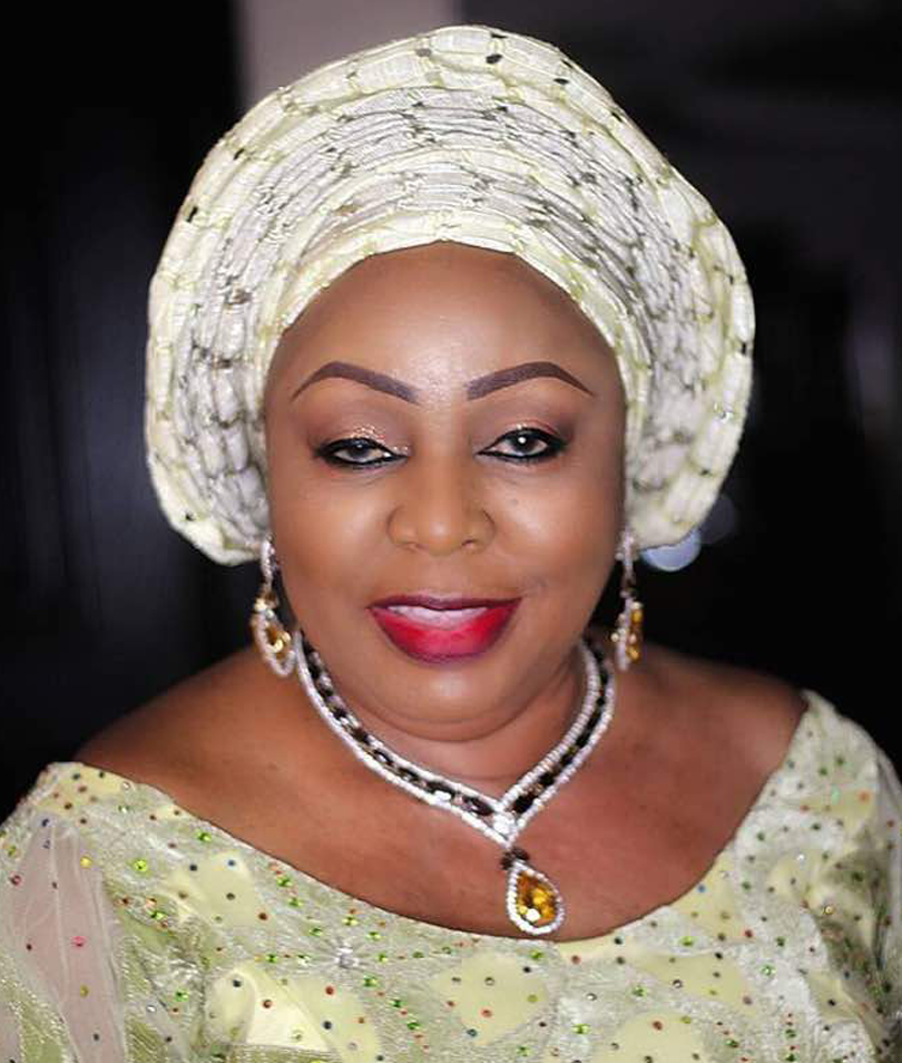 Florence Ita Giwa kneels To Beg Youth