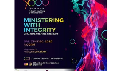 MINISTERING WITH INTEGRITY
