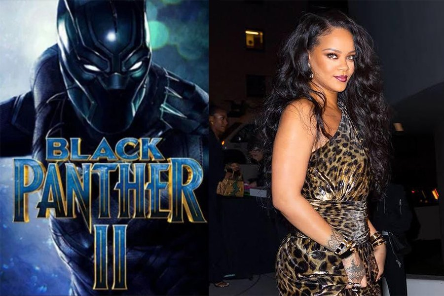 Rihanna in Black Panther 2 as she's listed as a cast member on google