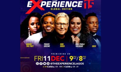 The biggest gospel music concert in the world 'The Experience' to hold its 15th Global Edition and it is Virtual this Year   December 11th