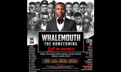 WHALEMOUTH THE HOMECOMING LIVE IN UGHELLI