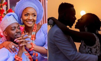 Beautiful words From Adekunle Gold And Simi As They Celebrate Two Years Marriage Anniversary