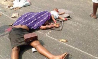 Nigerian Police Killed A Woman And Her Baby While Chasing After Yahoo Boys In Warri