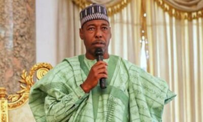 South-East Should Negotiate For Power If They Want It In 2023 - Gov Zulum