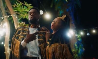 Patoranking & Flavour unlocked the visual for 'Mon Bebe' video, starring Yemi Alade