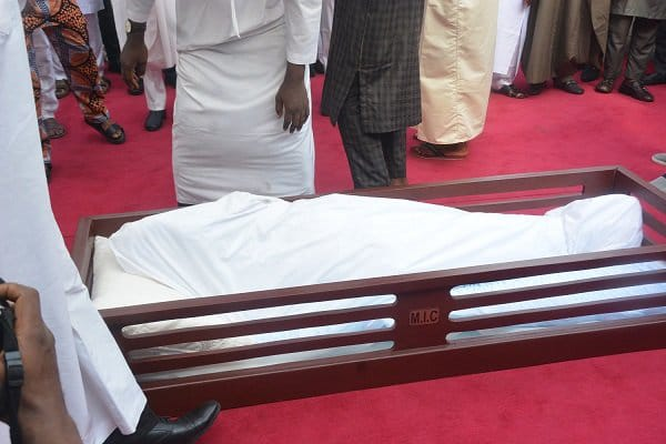 Former Governor of Lagos Lateef Kayode Jakande Finally Buried