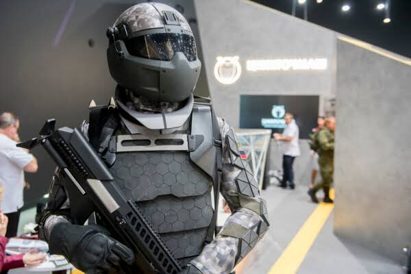 Check Out Russians New Combat Suit
