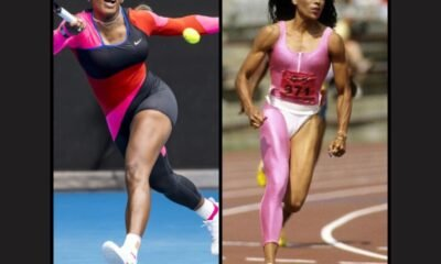 Serena Williams Pays Her Tribute to Flo-Jo In a One-Legged Catsuit