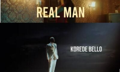 "Korede Bello unlock the visuals for ""Real Man"""