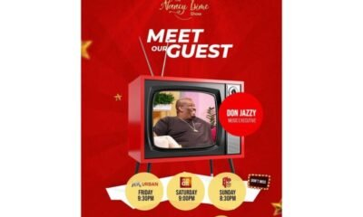 Don Jazzy Uncovered As First Guest On The Second Season Of The Nancy Isime Show