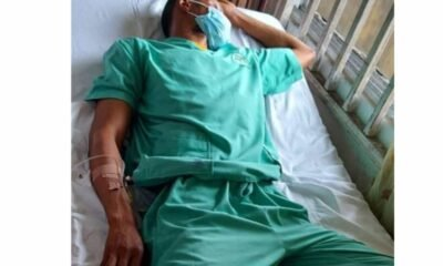 Nigerian Doctor Collapses After 72-hour Shift