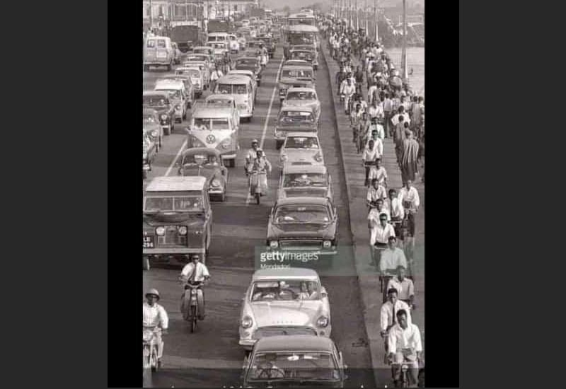 Can Lagos Be This Organised (Throwback Picture Of Lagos 1963)