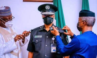 New Acting Inspector-General of Police Usman Baba Alkali