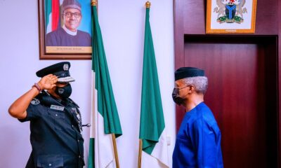 Osibanjo Decorates New IGP