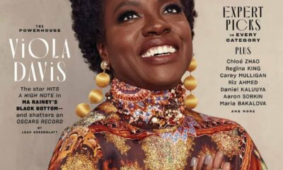 Viola Davis Is Royalty On EW's 2021 Oscars Issue