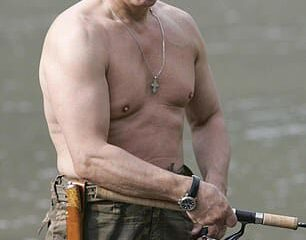 Vladimir Putin Wins The Most Sexiest Man In Russia